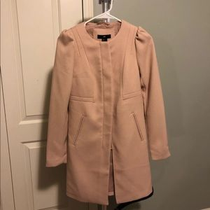 H&M Dusty Pink Trench Coat